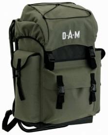 DAM Angler-Rucksack mit Stuhl