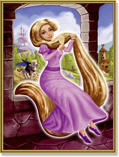 Schipper Malen nach Zahlen Rapunzel