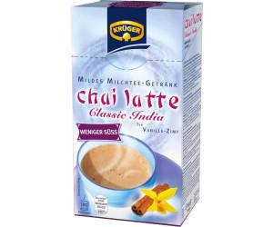 Krüger Chai Latte Classic India less sweet (10 Sachets)