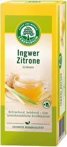 LEBENSBAUM Grüntee Ingwer-Zitrone (20 Stk.)