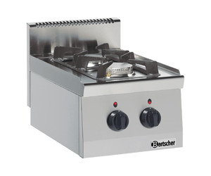 Bartscher 2 Flammen Gasherd Serie 600 (1317433)
