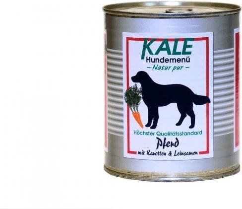 Kale Pferd mit Karotten & Leinsamen (800 g)