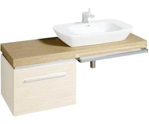 keramag silk waschtischplatte eiche 81624 ab 288 09 preisvergleich bei. Black Bedroom Furniture Sets. Home Design Ideas