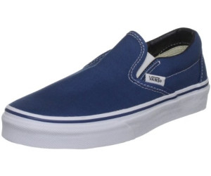 Damen Classic Slip-on Sneaker, Blau (Checkerboard), 45 EU Vans