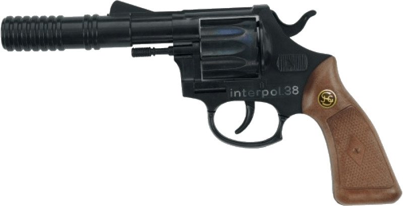 J.G. Schrödel Interpol 38 Pistole