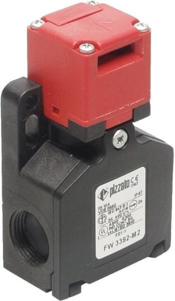 Pizzato Elettrica Sicherheitsschalter 250 V/AC 6A getrennter Betätiger tastend FW 3392-M2 IP67 1St.