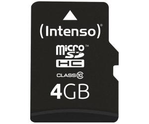 Micro Sd Karte 4gb.Intenso Microsdhc 4gb Class 10 3413450 Ab 3 57 Oktober