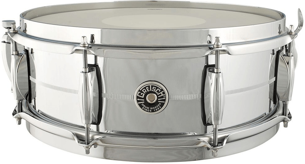 Image of Gretsch Brooklyn Chrome over Brass SD 14x5