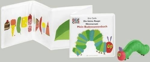 Gerstenberg Verlag Die kleine Raupe Nimmersatt - Mein Badewannenbuch