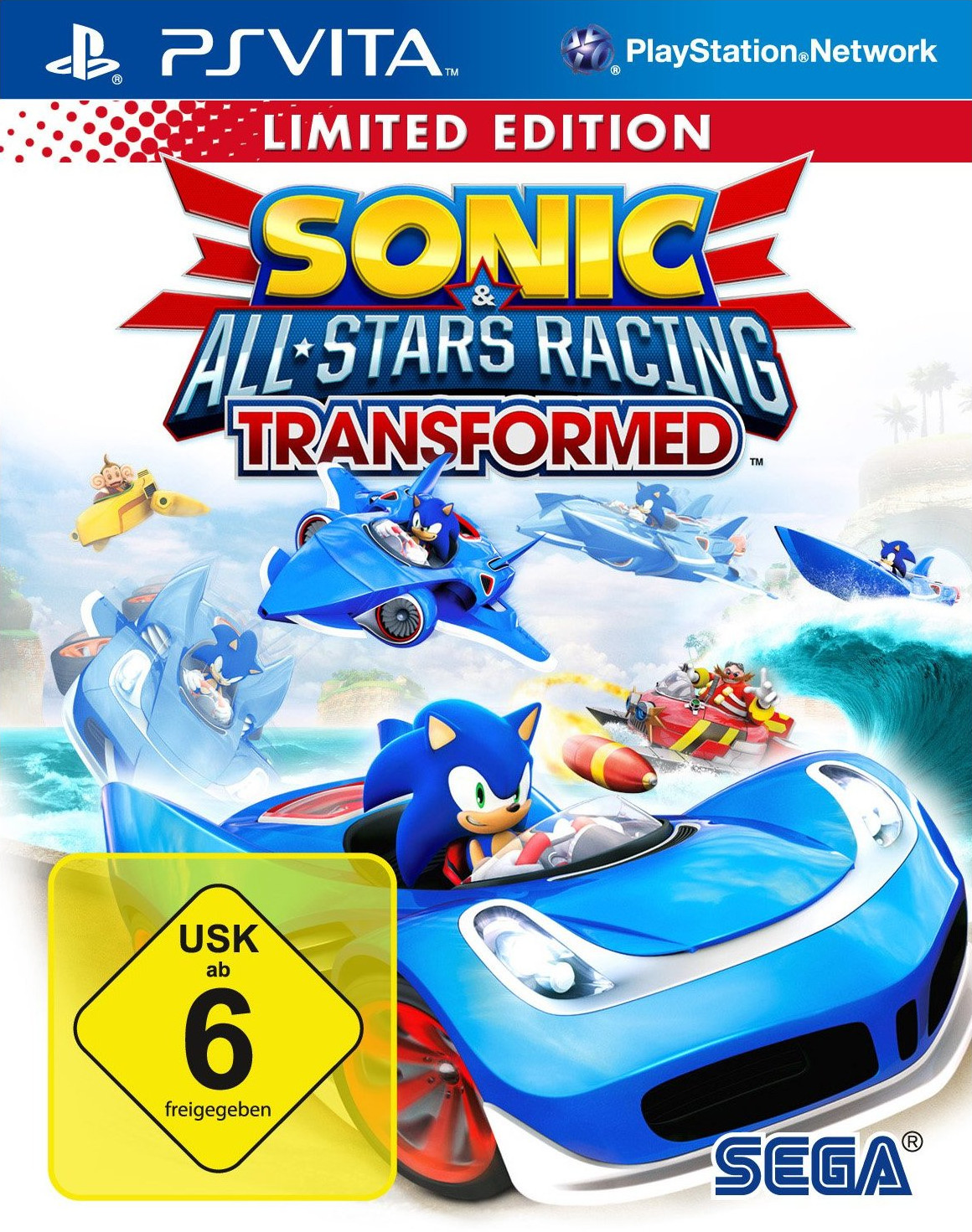 Sonic & All-Stars Racing: Transformed - Limited...