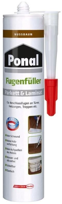 Ponal Parkett & Laminat Fugenfüller Nussbaum