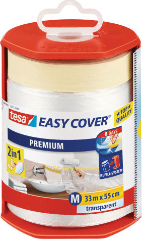 Vorschaubild von Tesa EASY COVER Premium Abdeckfolie 4368 (33 m x 55 cm)