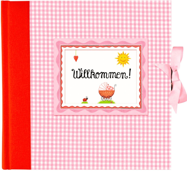 Coppenrath Babyalbum Willkommen 24x24/65 rosa