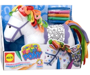 Image of Alex Toys Color & Cuddle Pony