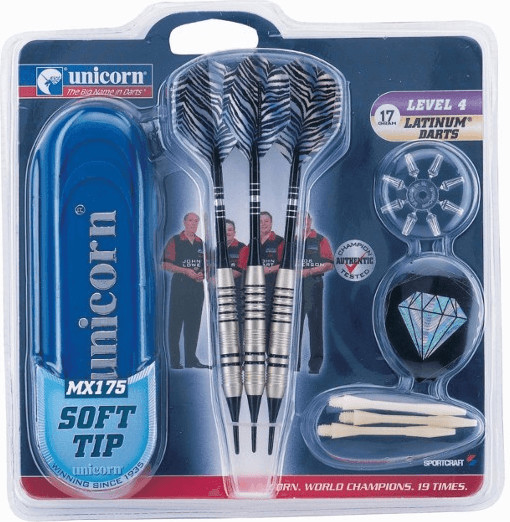 Unicorn Darts Safety MX175 17gr. Level 4