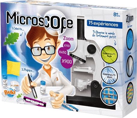 Buki 15 Experimente mit dem Mikroskop