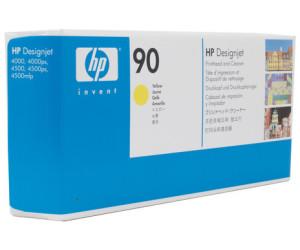 Original HP // C5057A // Nr 90 Druckkopf Yellow /& Druckkopfreiniger HP DesignJet 4000 400 ml
