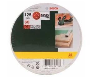 8 Löcher 25-teilig Bosch Schleifblatt-Set für Exzenterschleifer 125 mm