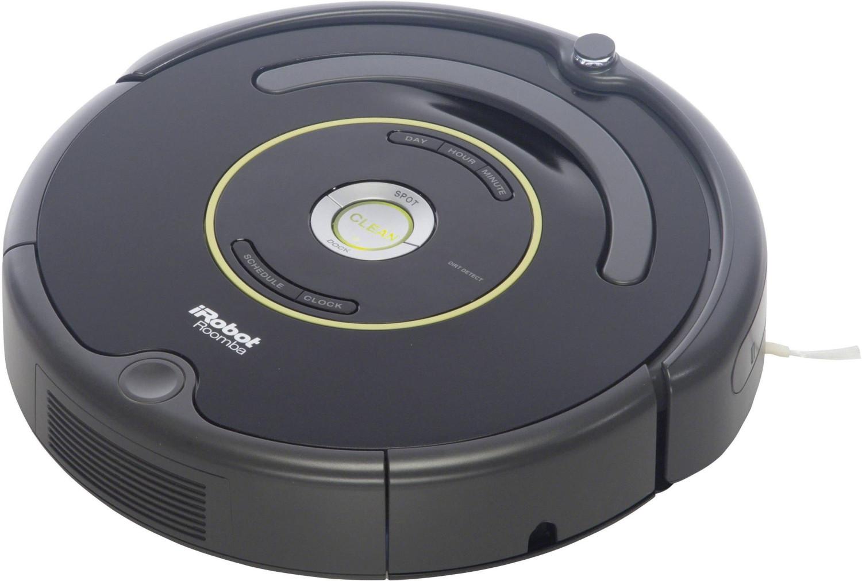 iRobot Roomba 650 Robot Aspirador, Alto Rendimiento de Limpieza, Programable, Atrapa el Pelo de Mascotas, 33 W, 33 Decibeles
