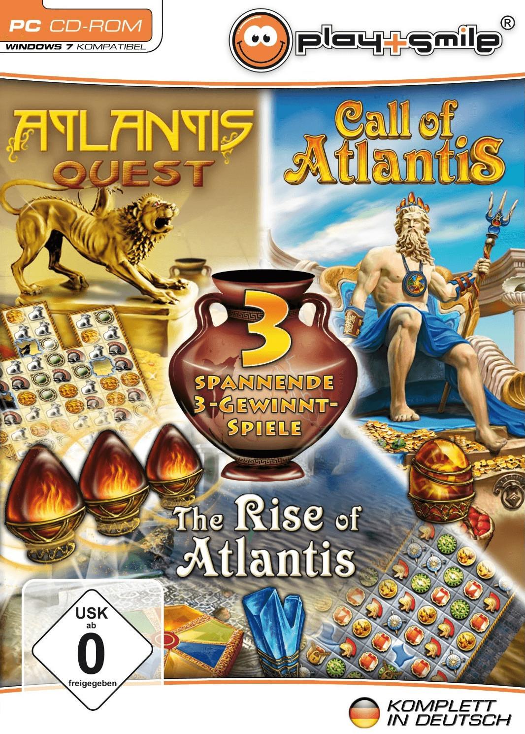 Atlantis Quest + Call of Atlantis + The Rise of Atlantis (PC)