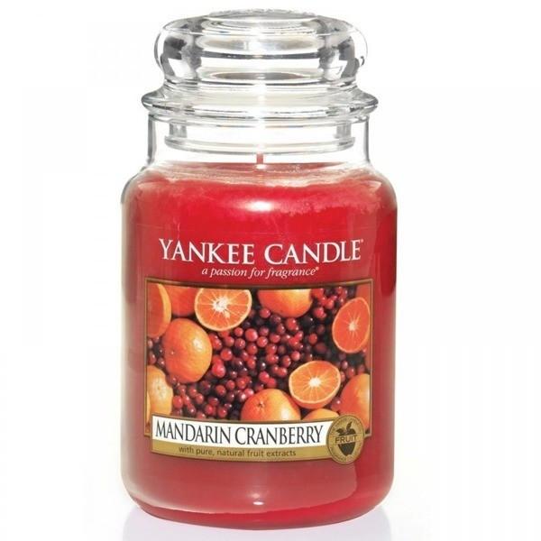 Yankee Candle Mandarin Cranberry Kerze