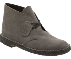 clarks desert boot dark grey suede
