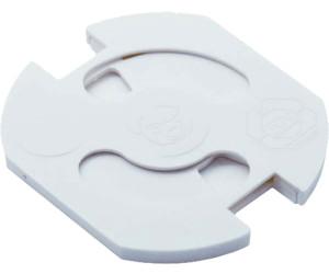Reer Steckdosenschutz zum Kleben Weiß 10 Stück Kinder Baby Steckdose B-Ware+