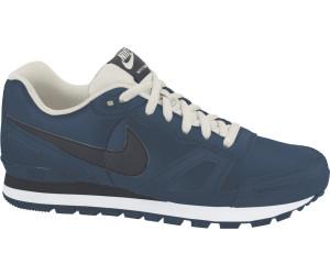 Nike Air Waffle Trainer Leder dunkelblau/schwarz/weiß