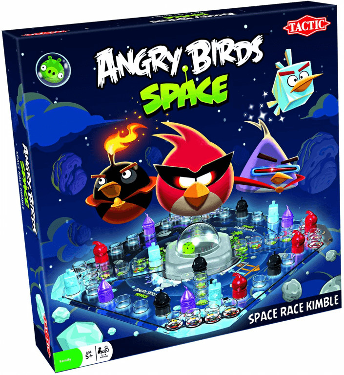 Tactic Angry Birds Space