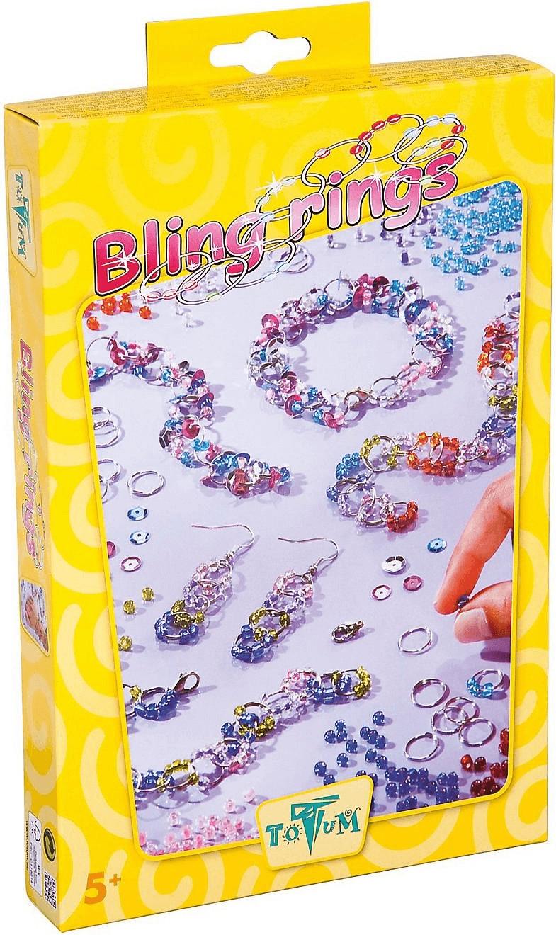 Totum Schmuck-Bastelset Bling rings