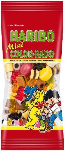 Haribo Mini Color-Rado (65 g)