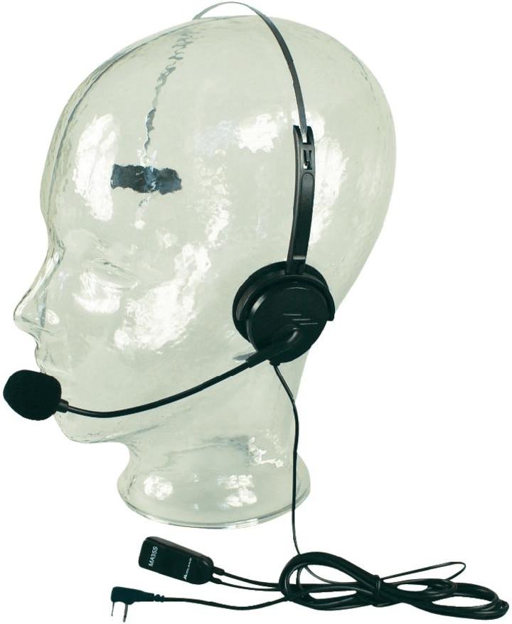 Alan Headset mit Schwanenhals MA 35 für Funkgeräte