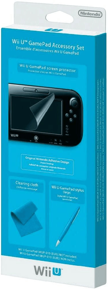 Image of Nintendo Wii U GamePad Accessory Set