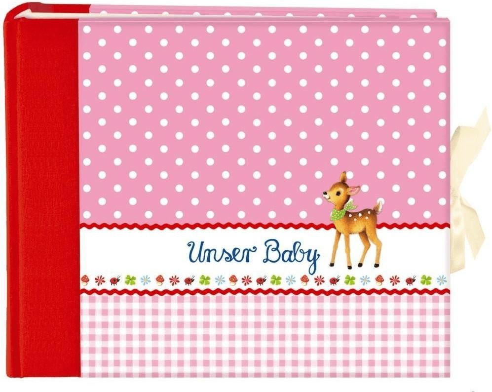 Coppenrath Fotoalbum Unser Baby 27x21/52 rosa