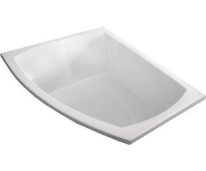 hoesch largo asymmetrische badewanne 180 x 130 cm 3694. Black Bedroom Furniture Sets. Home Design Ideas