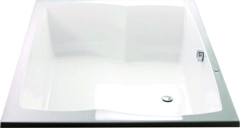 Hoesch Largo Rechteck-Badewanne 200 x 140 cm (3...