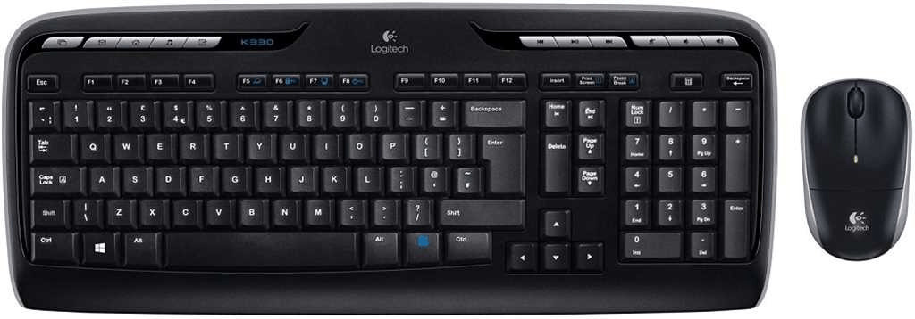 Logitech Wireless Combo MK330 DE
