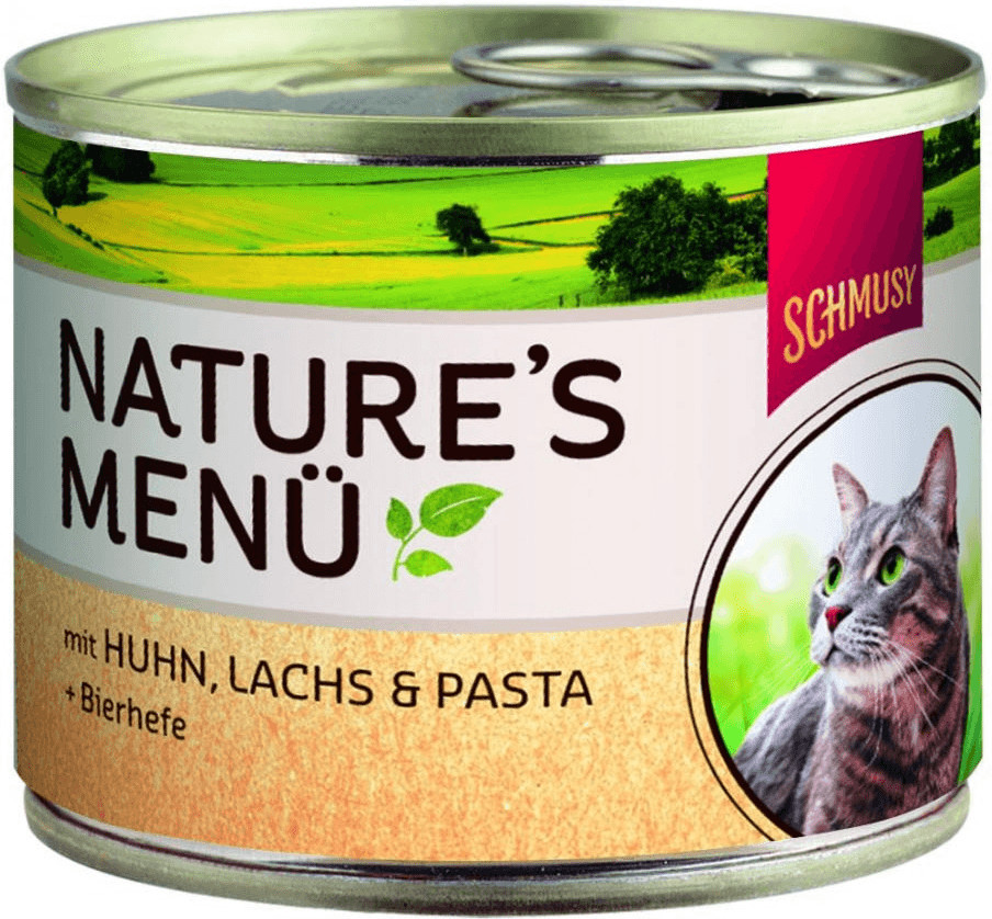 Schmusy Natures Menü Huhn & Lachs (190 g)