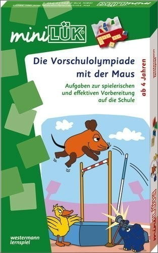 Westermann miniLÜK Set - Die Vorschulolympiade mit der Maus