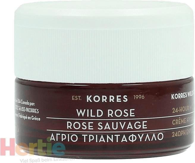 Korres Wild rosa 24h Moisturising & Brightening Cream (40 ml)