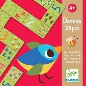 Djeco Domino - Eins zwei drei
