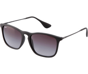 33e5978496 Buy Ray-Ban Chris RB4187 622 8G (rubber black grey gradient) from ...
