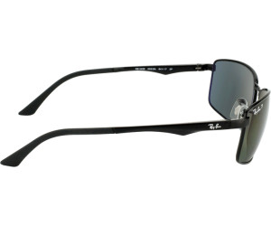 9a3ee1b8137364 Ray-Ban RB3498 002 9A (black polarized green) a € 103,00   Miglior ...