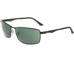 868d029e04 Buy Ray-Ban RB3498 002 71 (black green) from £74.90 – Best Deals on ...