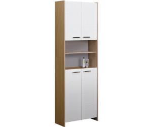 fackelmann kayo doppel hochschrank ab 213 96 preisvergleich bei. Black Bedroom Furniture Sets. Home Design Ideas