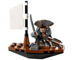Lego Pirates Of The Caribbean Captain Jack Sparrow With Boat
