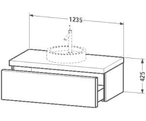 Duravit Starck Waschtischunterbau Mittig S19528m Ab 101231