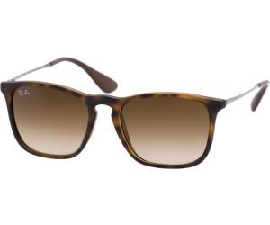 RAY BAN RAY-BAN Herren Sonnenbrille »CHRIS RB4187«, grau, 631930 - grau/silber