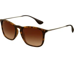 4c8dd4361c Buy Ray-Ban Chris RB4187 856 13 (rubber havana brown gradient) from ...