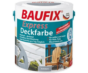 baufix express deckfarbe 2 5 l ab 12 99 preisvergleich bei. Black Bedroom Furniture Sets. Home Design Ideas